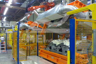 Hydraulic / Pneumatic mould holders