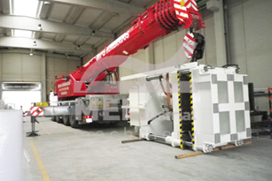 Transfer of machinery